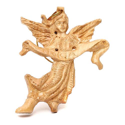 Capanna con presepe in legno d'ulivo Betlemme 20x50x15 cm 6