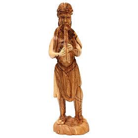 Presépio Completo 14 figuras madeira de oliveira Belém altura média 35 cm s5