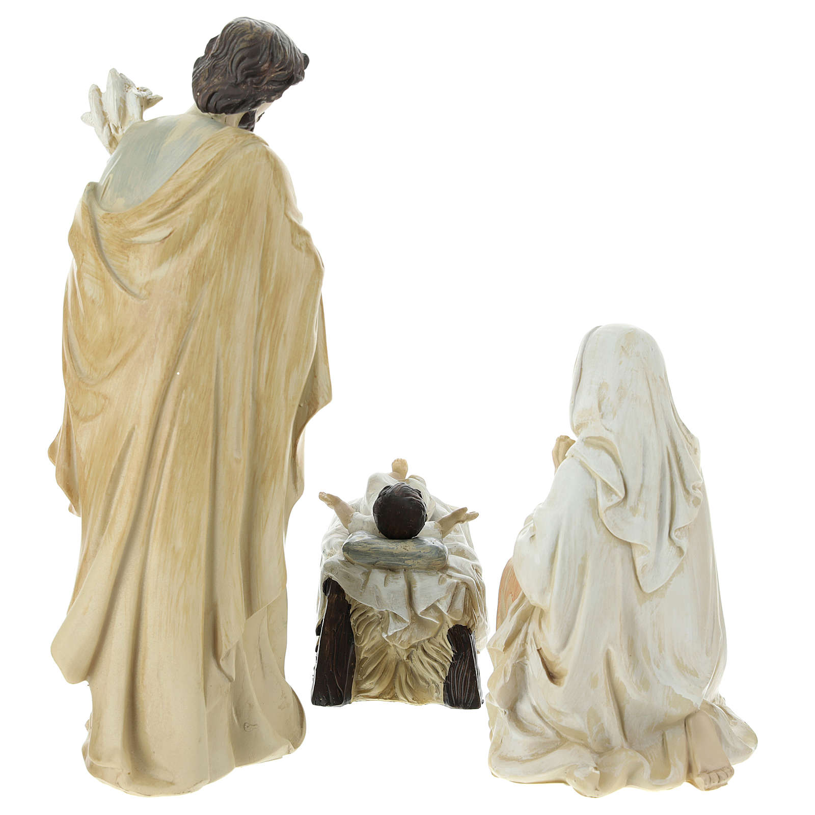Complete Nativity scene consisting of 9 pieces 20.5 cm resin 4