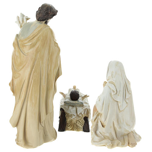Complete Nativity scene consisting of 9 pieces 20.5 cm resin 3