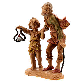 Pastore con bambino e lanterna 10 cm Fontanini s2