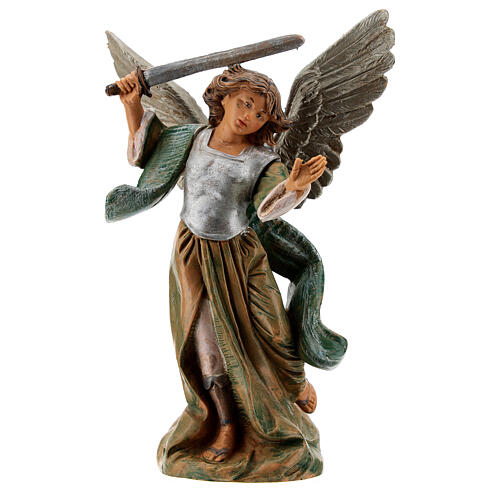 Saint Michael the Archangel resin statue, 15 cm Fontanini 1