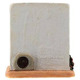 STOCK Abbeveratoio con tetto resina presepe 7 cm Fontanini s4