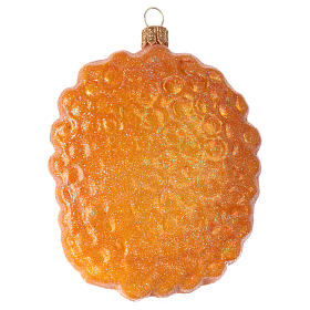 Beehive structure in blown glass for Christmas Tree s3