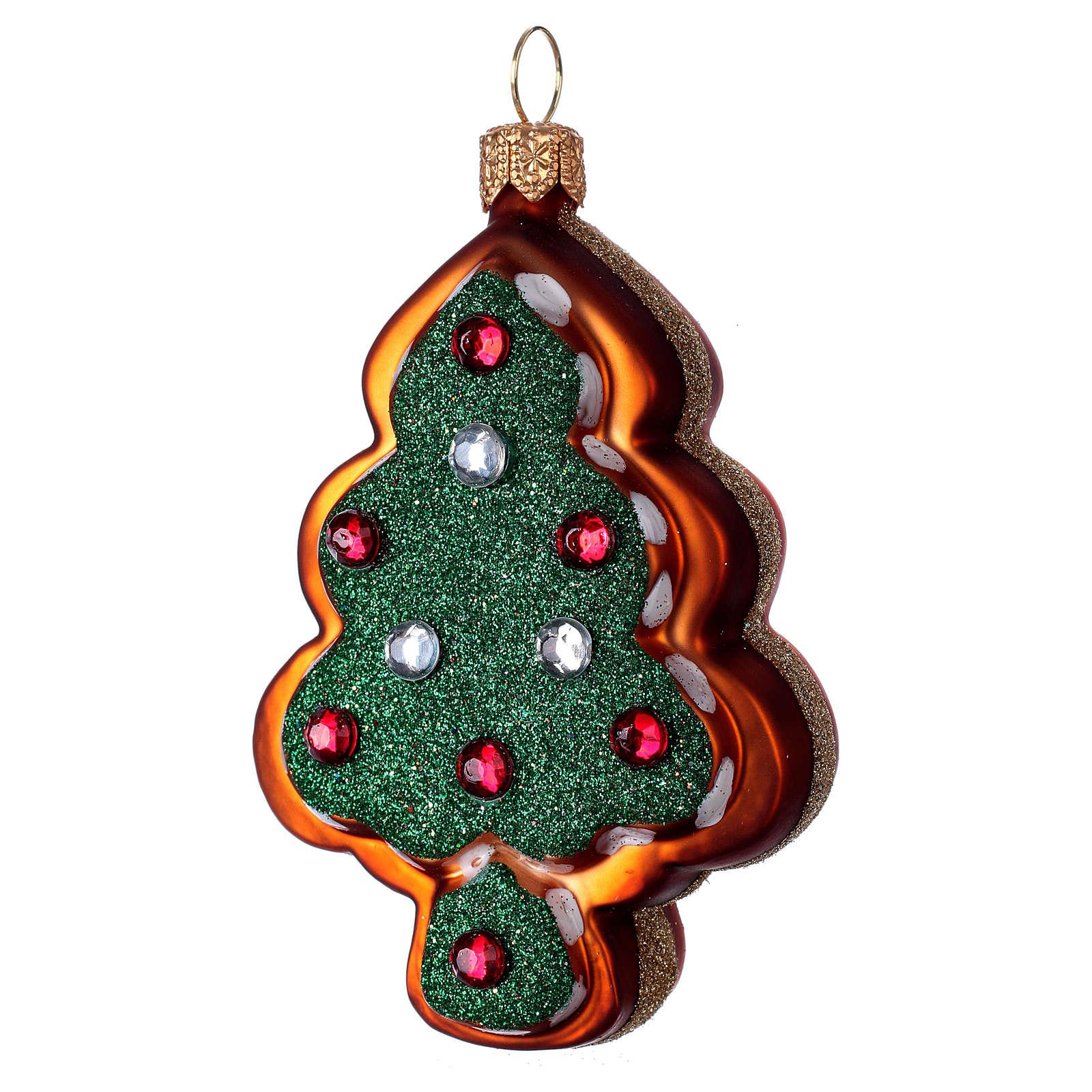 Inges Christmas Boule Verre souffl/é Collection Paon cm.24