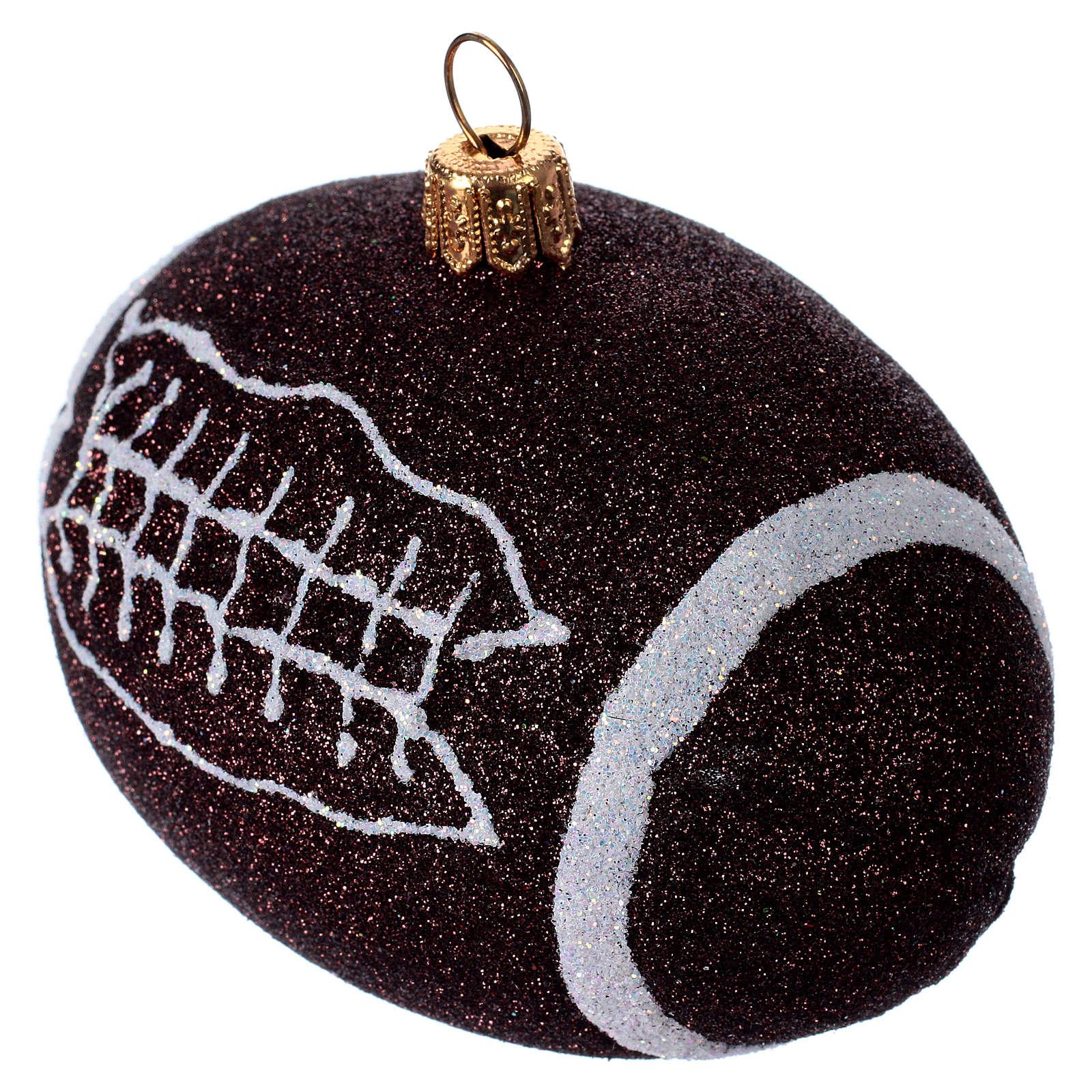 Palla da football americano Albero Natale 4