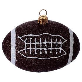 Palla da football americano Albero Natale s1