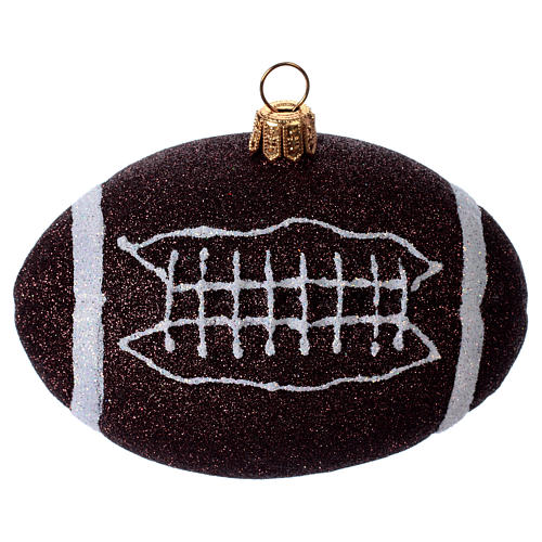 Palla da football americano Albero Natale 1