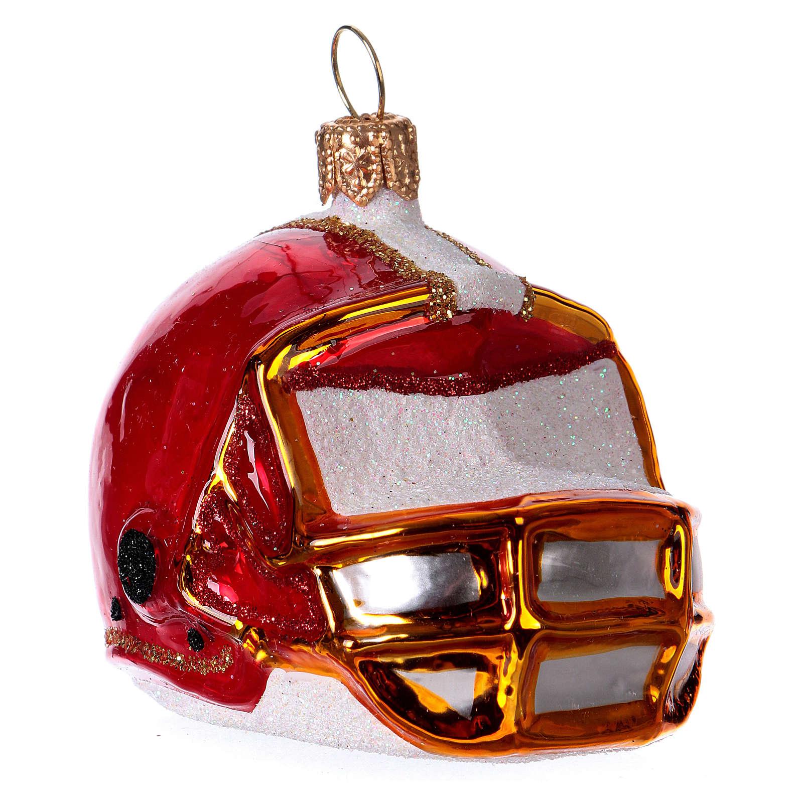 Casco de fútbol americano Árbol Navidad 4