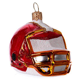 Casco de fútbol americano Árbol Navidad s2
