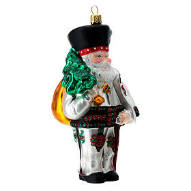 Babbo Natale polacco vetro soffiato addobbo albero natale s3