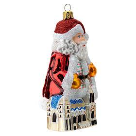 Papá Noel Austria vidrio soplado adorno Árbol de Navidad s3