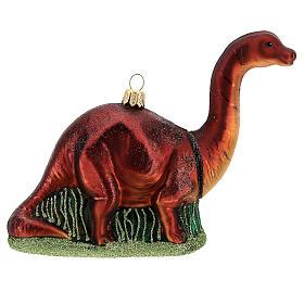 Brontosaurio decoración árbol Navidad vidrio soplado s4