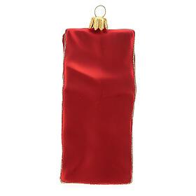 Tè sacchetto decorazione albero Natale vetro soffiato s4