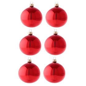Pallina Natale 150 mm cuore bianco argento lampione vetro soffiato s1