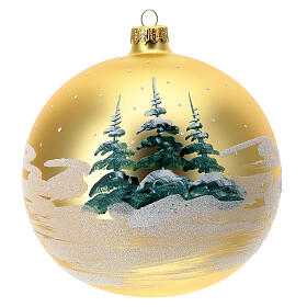 Christmas tree ornament village children blown glass 150 mm s4