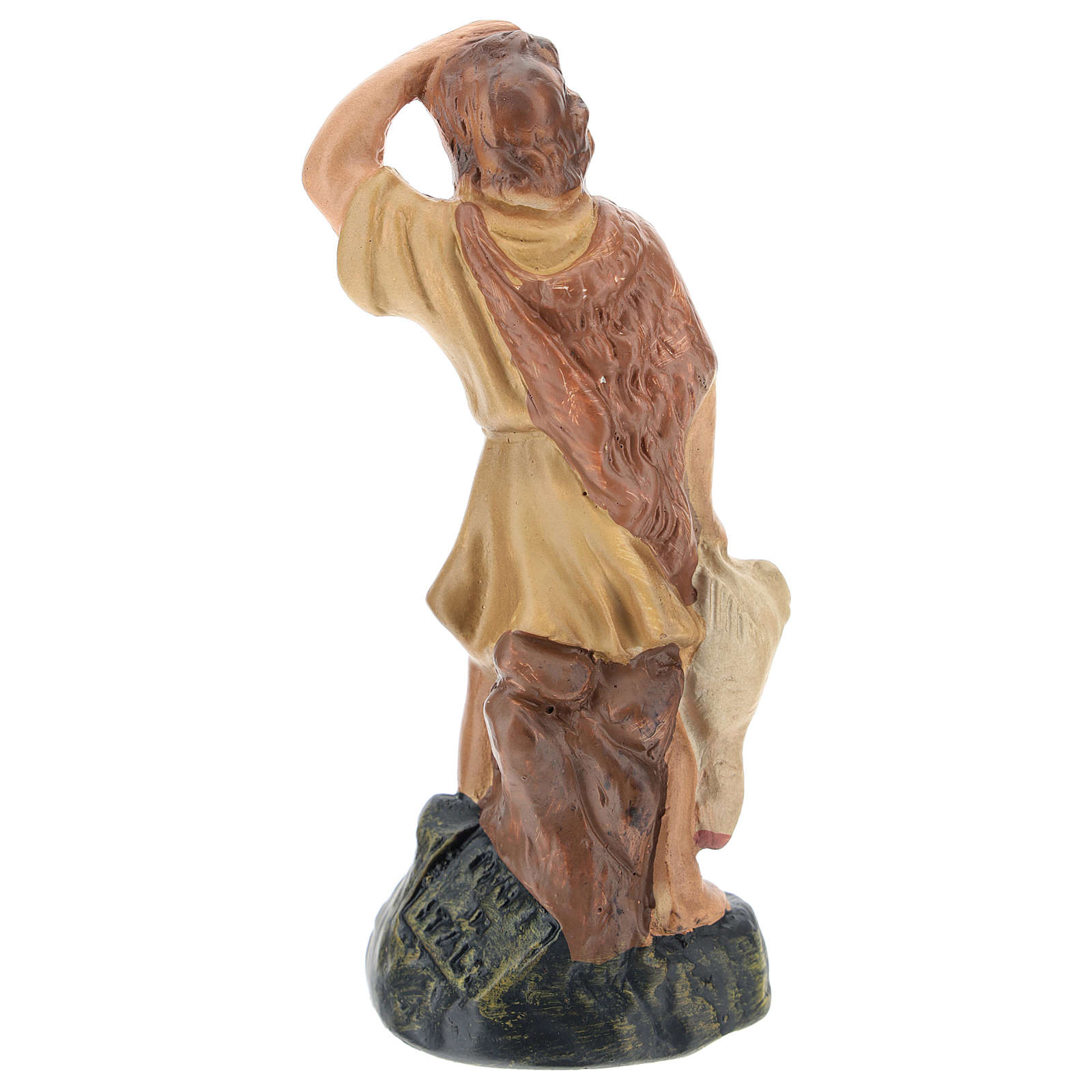 Estatua pastor que mira las estrellas yeso coloreado Arte Barsanti 15 cm 4