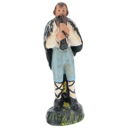 Shepherd with flute for Arte Barsanti Nativity Scene 15 cm 1