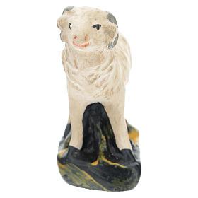 Pecorelle Arte Barsanti set 4 pezzi gesso per presepi di 15 cm s3