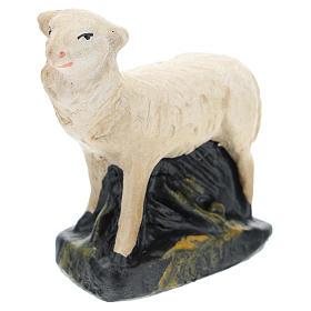 Pecorelle Arte Barsanti set 4 pezzi gesso per presepi di 15 cm s4