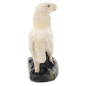 Pecorelle Arte Barsanti set 4 pezzi gesso per presepi di 15 cm s6