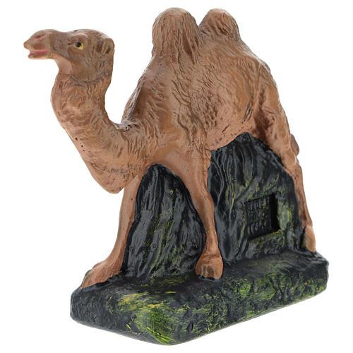 Camello de pie Arte Barsanti yeso para belenes 15 cm 3