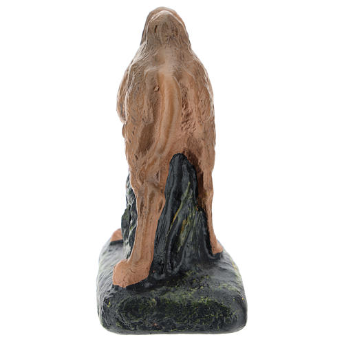 Camello de pie Arte Barsanti yeso para belenes 15 cm 4