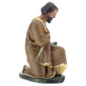 Figur Heiliger Josef aus Gips für Krippen handbemalt von Arte Barsanti, 20 cm s4