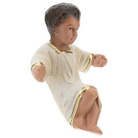 Statua Gesù Bambino per presepi Arte Barsanti di 20 cm gesso colorato s3