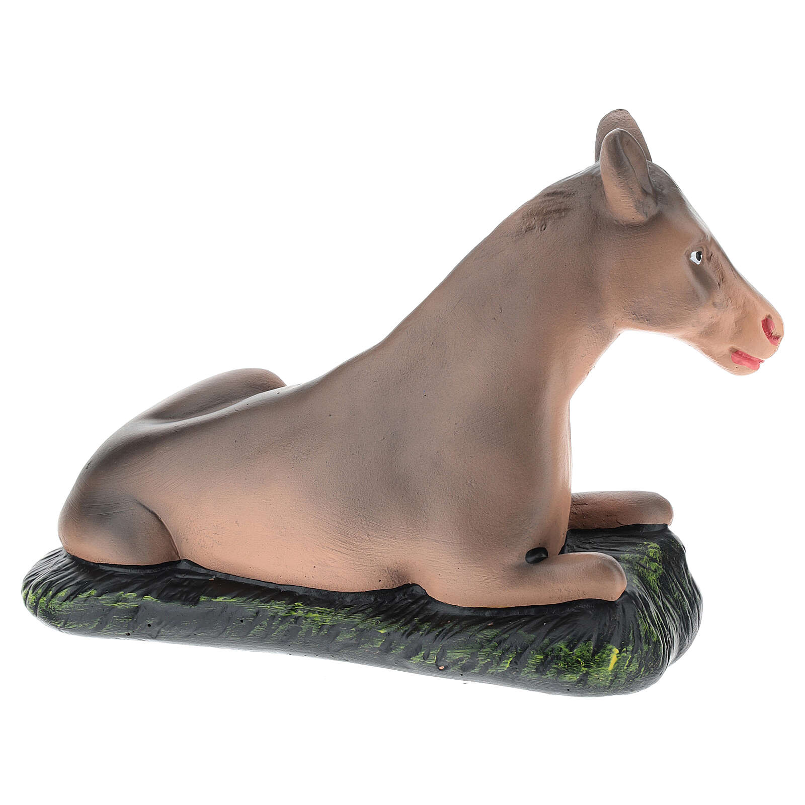 Donkey for Arte Barsanti Nativity Scene 20 cm 4