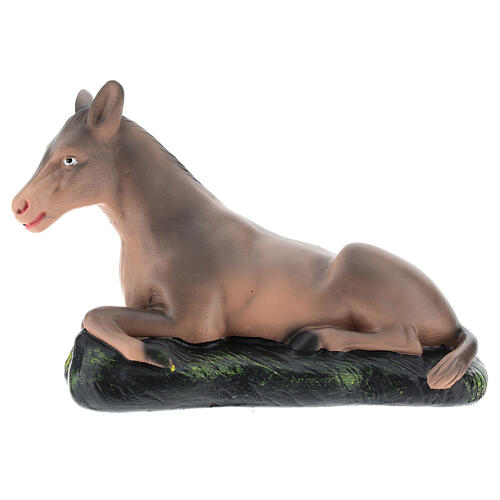 Donkey for Arte Barsanti Nativity Scene 20 cm 1