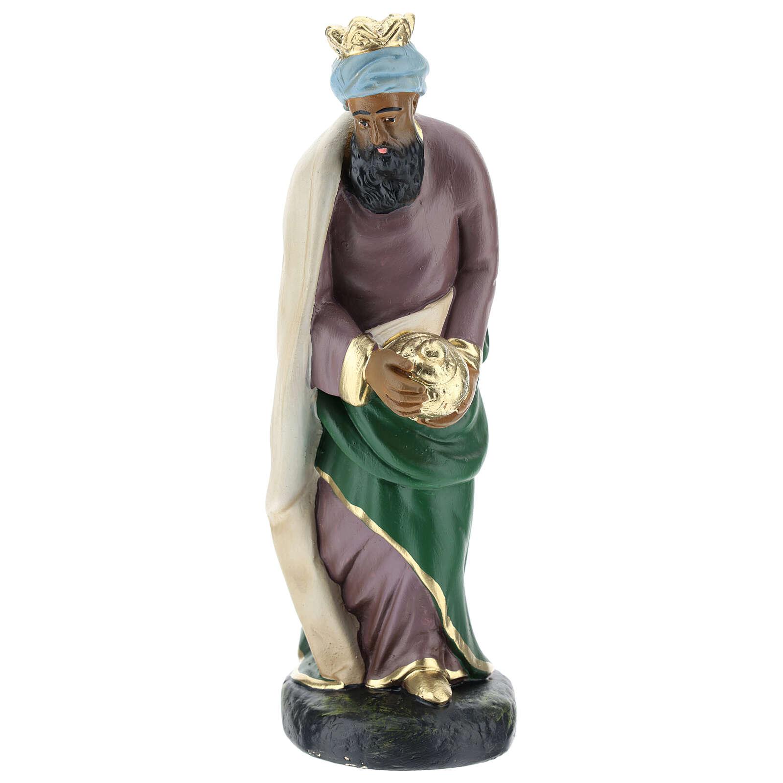 Moor Wise Man Jasper for Arte Barsanti Nativity Scene 20 cm 4