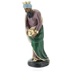 Moor Wise Man Jasper for Arte Barsanti Nativity Scene 20 cm s3