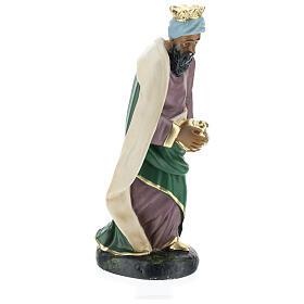 Moor Wise Man Jasper for Arte Barsanti Nativity Scene 20 cm s4