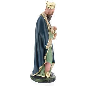 White Wise Man Melchior for Arte Barsanti Nativity Scene 20 cm s4