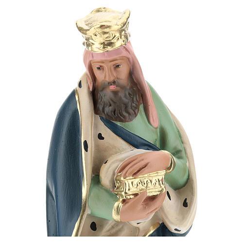 White Wise Man Melchior for Arte Barsanti Nativity Scene 20 cm 2