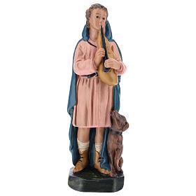 Shepherd with flute and dog for Arte Barsanti Nativity Scene 20 cm s1