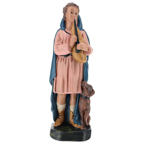 Shepherd with flute and dog for Arte Barsanti Nativity Scene 20 cm 1