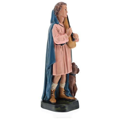 Shepherd with flute and dog for Arte Barsanti Nativity Scene 20 cm 4