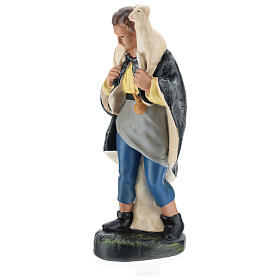 Pastor con ovejita sobre las espaldas yeso para belenes 20 cm Arte Barsanti s3