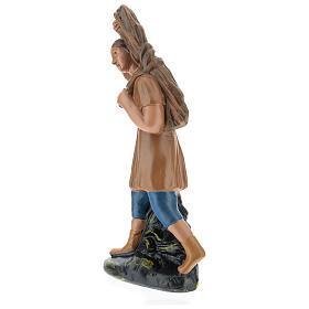 Farmer with timber for Arte Barsanti Nativity Scene 20 cm s3