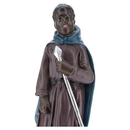 Estatua camellero moreno yeso 20 cm Arte Barsanti 2