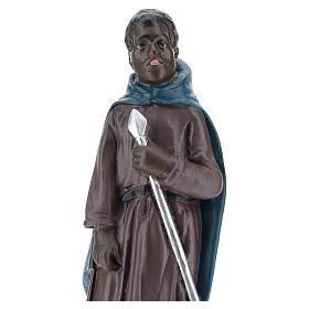 Statua cammelliere moro gesso 20 cm Arte Barsanti s2