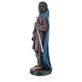 Statua cammelliere moro gesso 20 cm Arte Barsanti s3