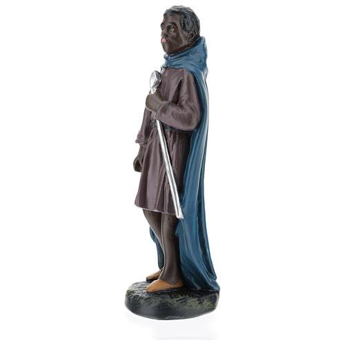 Statua cammelliere moro gesso 20 cm Arte Barsanti 3