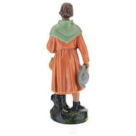Estatua pastor viandante yeso 20 cm Arte Barsanti s5