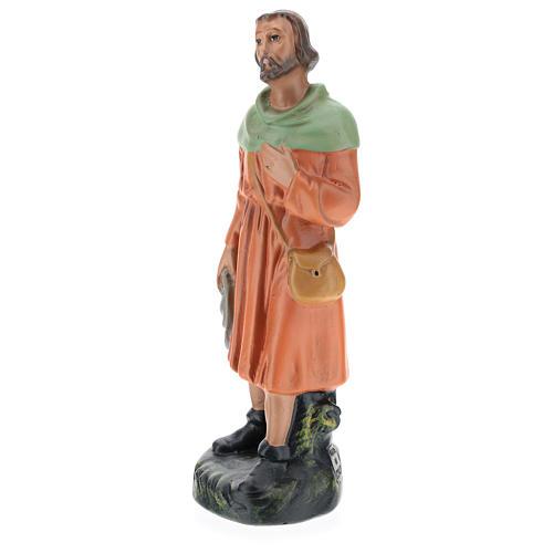 Estatua pastor viandante yeso 20 cm Arte Barsanti 3