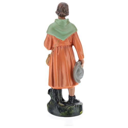 Estatua pastor viandante yeso 20 cm Arte Barsanti 5