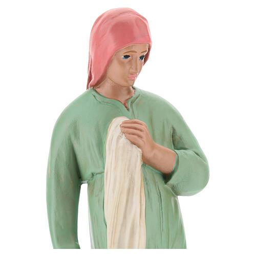 Laundress with clothes for Arte Barsanti Nativity Scene 20 cm 2