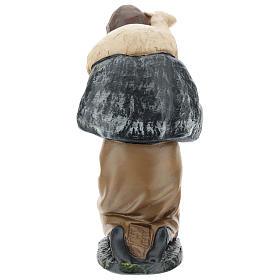 Estatua pastor de rodillas con oveja belén 20 cm Arte Barsanti s5